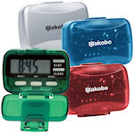 Multi Function Pedometers With Clock
